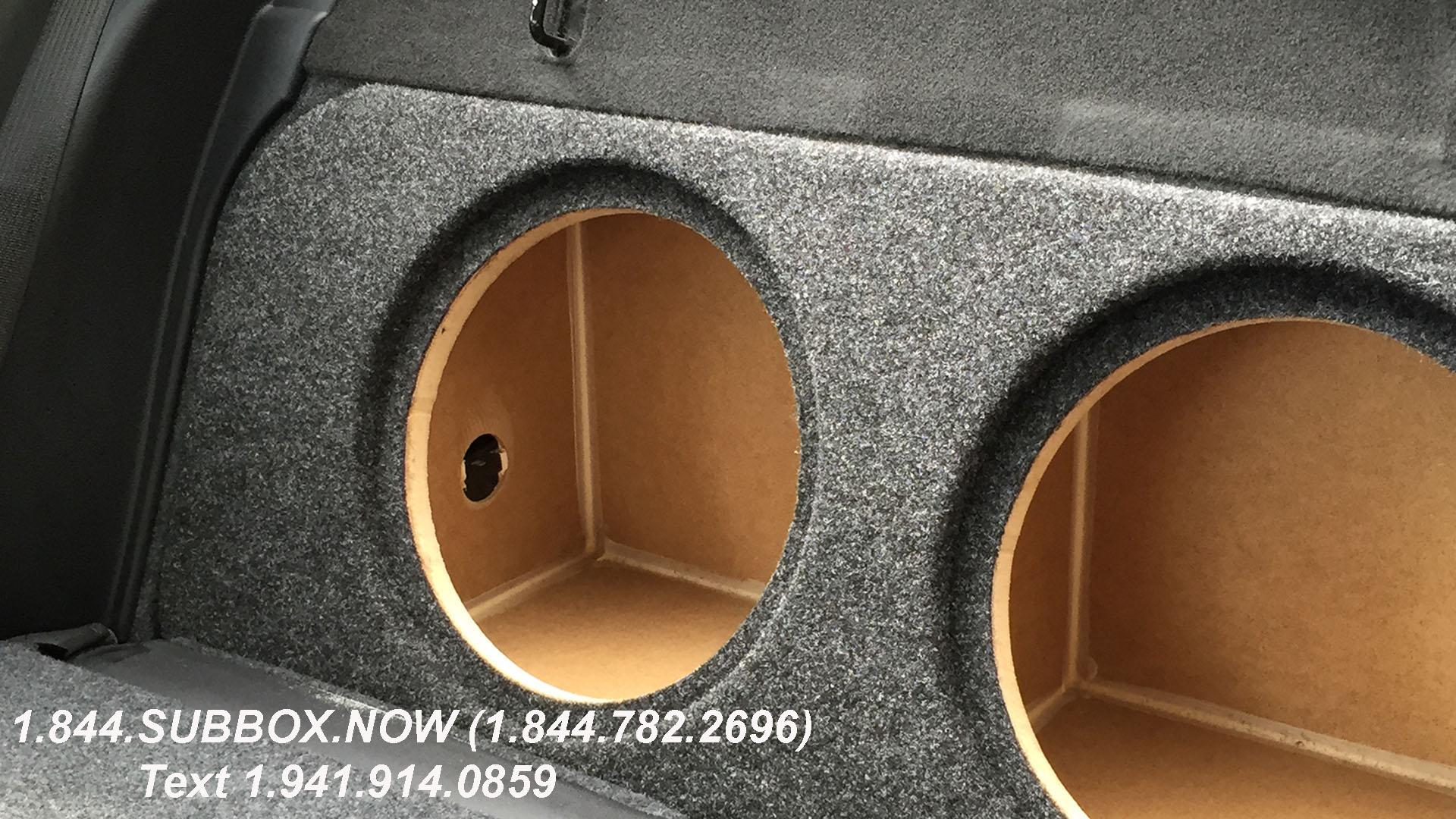 Custom Sub Enclosure | Affordable Sub Box